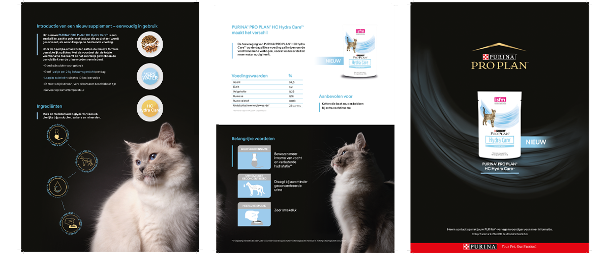 Purina Pro Plan - Hydracare campagne